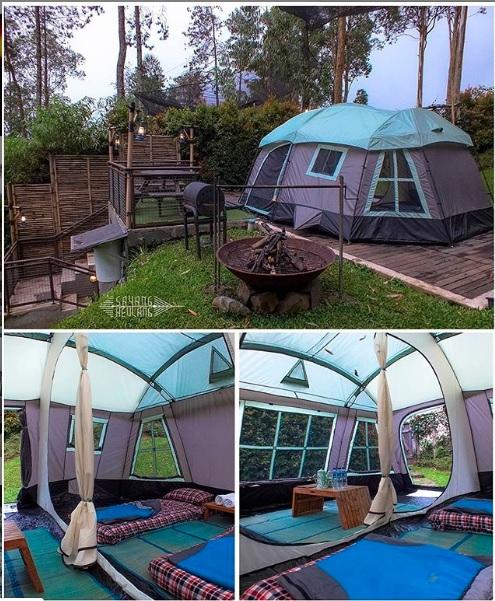 camping ground di dusun bambu