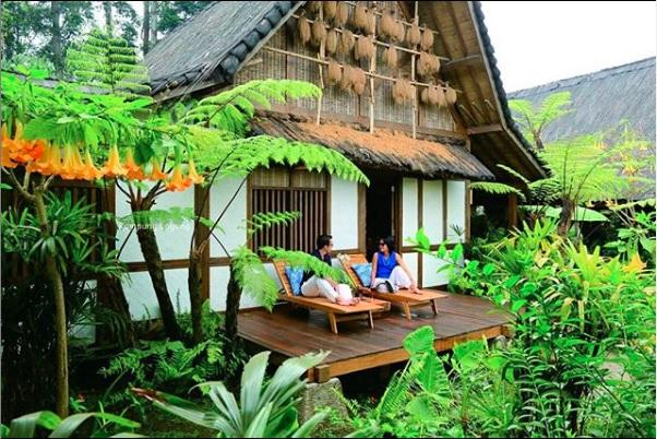 kampung layung dusun bambu wisata bandung